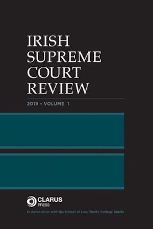 Irish Supreme Court Review, via Clarus Press